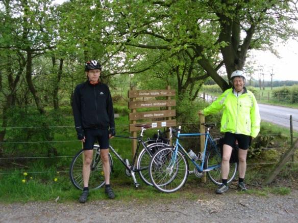 Tim and Paul at Hermand